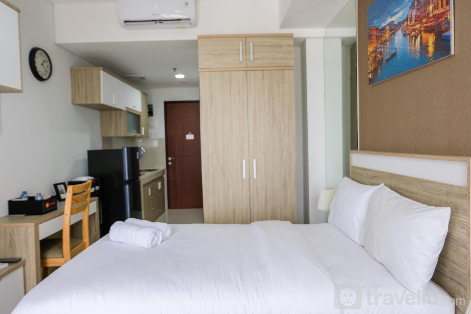Springwood Residence Tangerang - Homey Studio Springwood Apartment By Travelio
