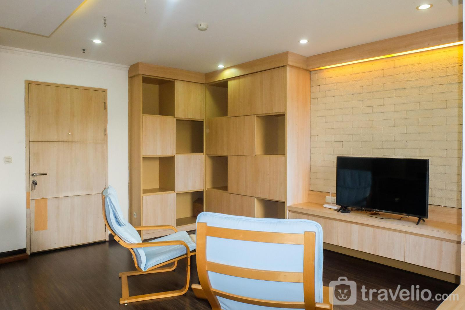 Maple Park Sunter - Spacious 1BR for 5 Pax at Maple Park Apartment By Travelio