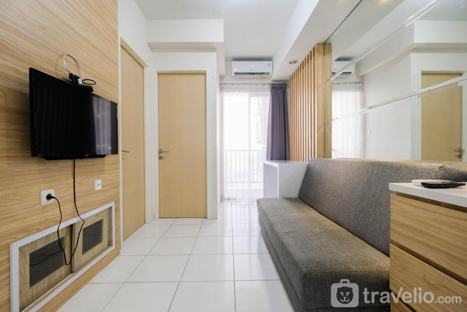 Ayodhya Residence Tangerang - Homey 2BR Ayodhya Residence Apartment By Travelio