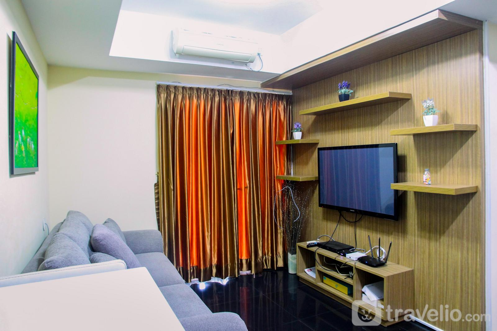 The Wave Kuningan - Modern 2BR at The Wave Epicentrum Apartment near Kuningan By Travelio