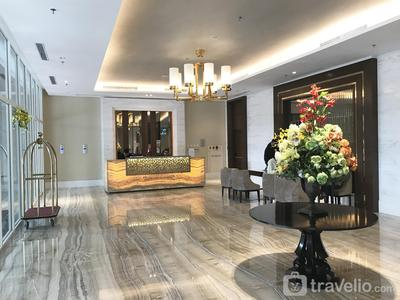 Luminous Modern 2 BR Menteng Park Apartment By Travelio