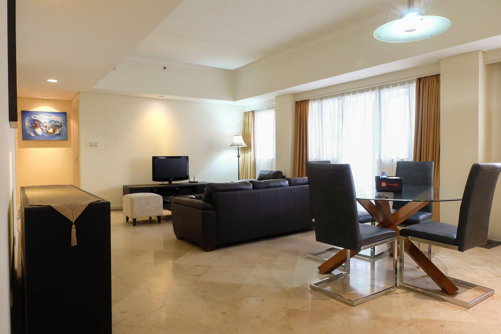Setiabudi Apartment Jakarta - 2BR Exclusive Central Location Apartment Near Setiabudi One By Travelio
