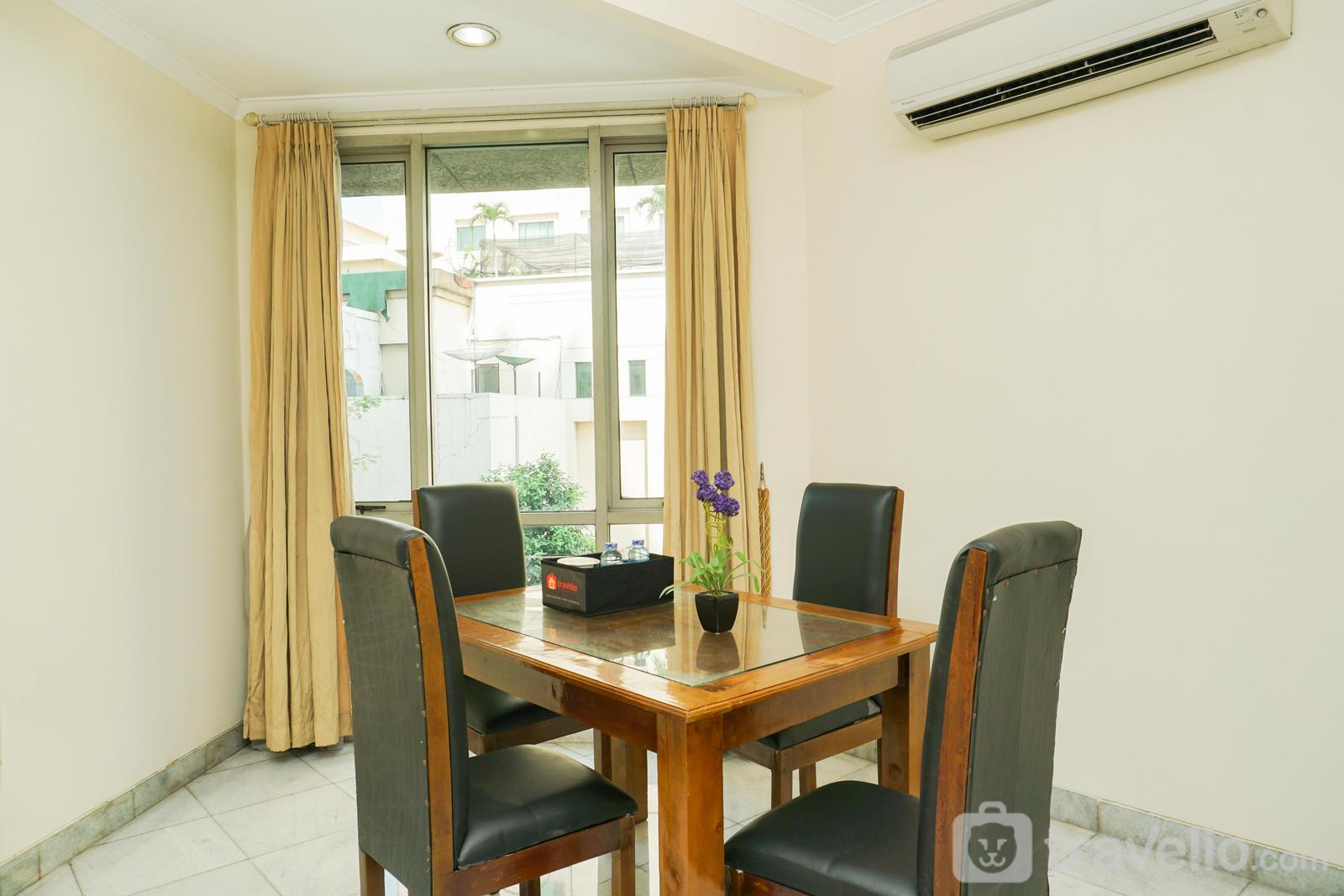 Mitra Oasis (Allson) Senen - Spacious 1BR Apartment at Mitra Oasis Senen By Travelio
