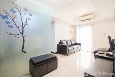Comfortable 2BR The Wave Apartment near Epicentrum Kuningan by Travelio
