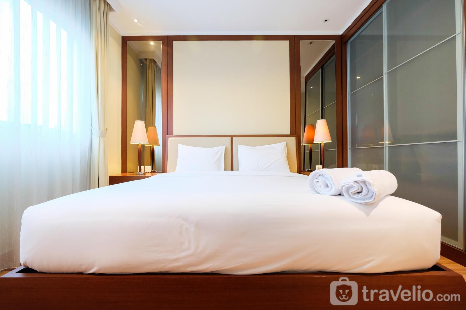 Sahid Sudirman Residence - Cozy 2BR Sahid Sudirman at Central Area By Travelio