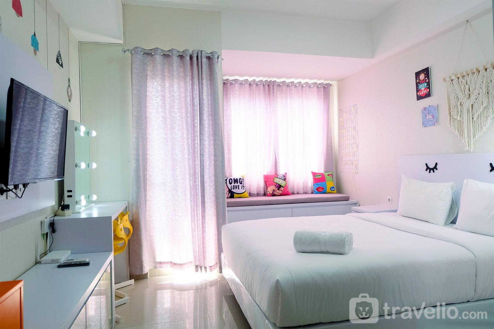 The Oasis Cikarang - Simply White Studio The Oasis Apartment By Travelio