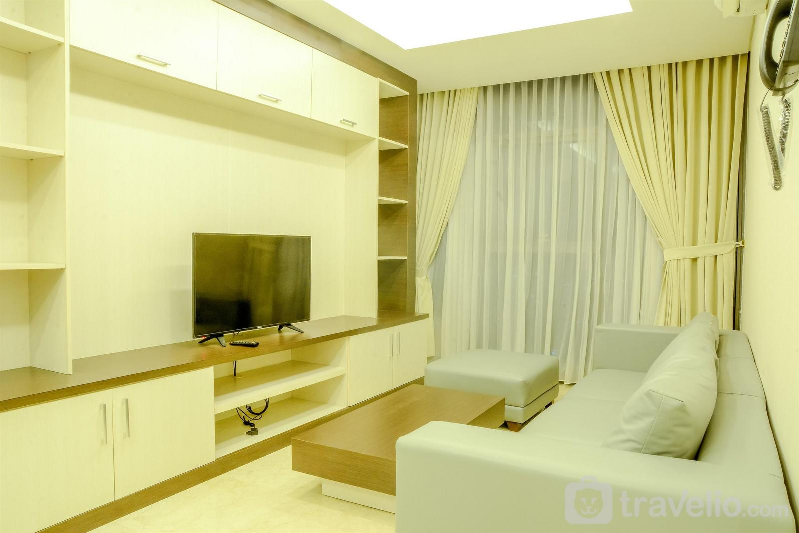 Lavenue Apartemen Pancoran - Spacious and Modern 2BR L'Avenue Apartment By Travelio