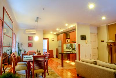 Spacious 1 BR @ Puri Garden Apartment near to Puri Indah Mall By Travelio
