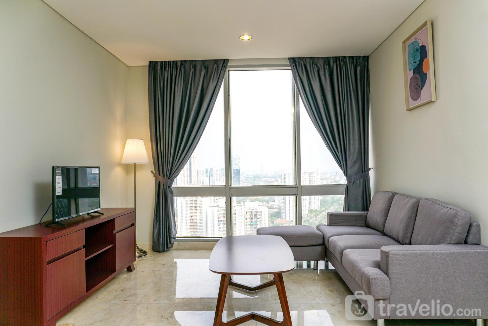 The Grove Suites - Cozy 2BR @The Grove Suite Apartment By Travelio