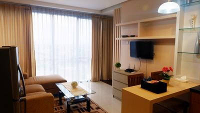 1BR Kemang Mansion Premium Apartment By Travelio