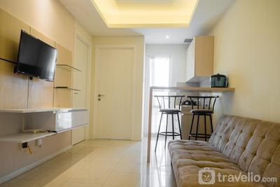 Compact 2BR with Sofa Bed at Parahyangan Residence By Travelio