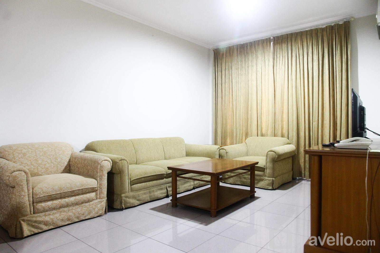 Pondok Club Villa Apartment - Comfortable and Homey 2BR Pondok Klub Villa Apartment By Travelio