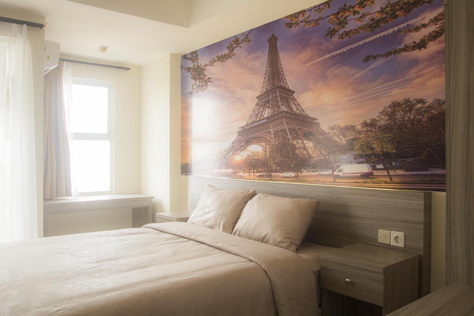 Belmont Residence Puri - Dream of Paris Studio Room at Belmont Residence Apartment