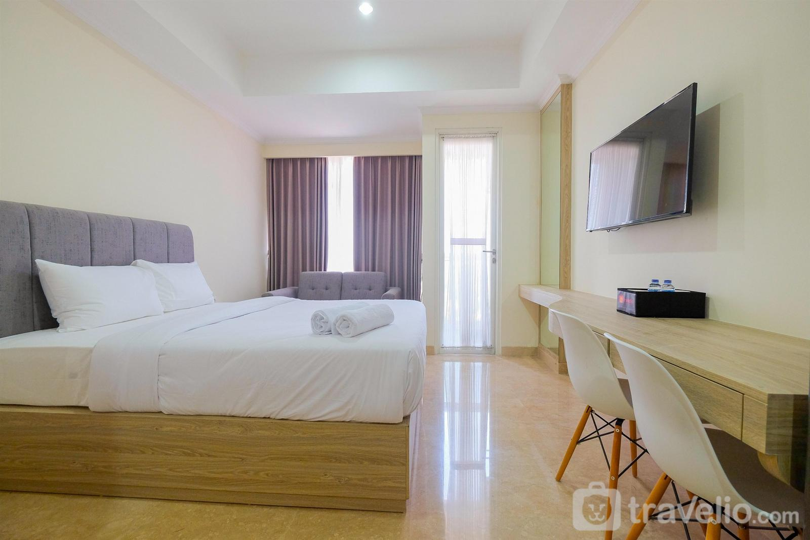 Menteng Park Apartment - City View Studio @ Menteng Park Apartment By Travelio