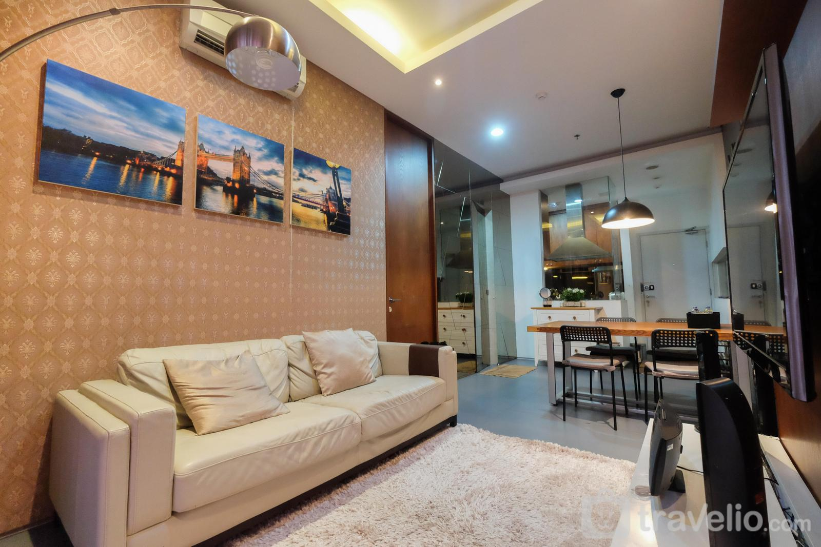 The Lavande Residence - Modern 1BR Apartment at The Lavande Residence By Travelio