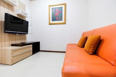 Homey 1 BR Apartment Thamrin Residence By Travelio