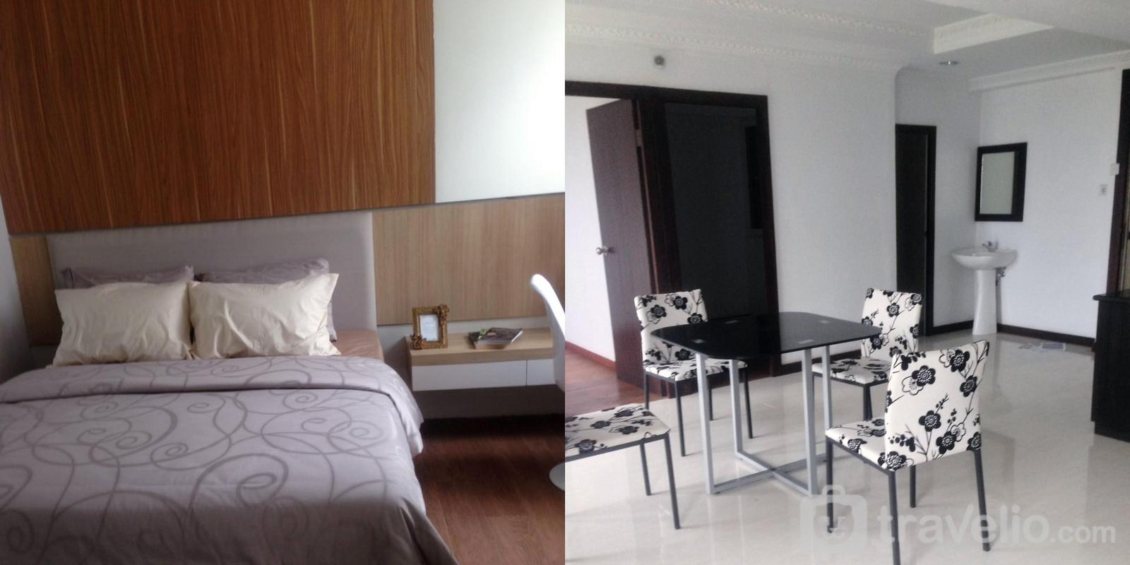 Mutiara Bekasi Apartment  - 3 BR Cozy Full Furnish With Pool View @ Apartment Mutiara Bekasi