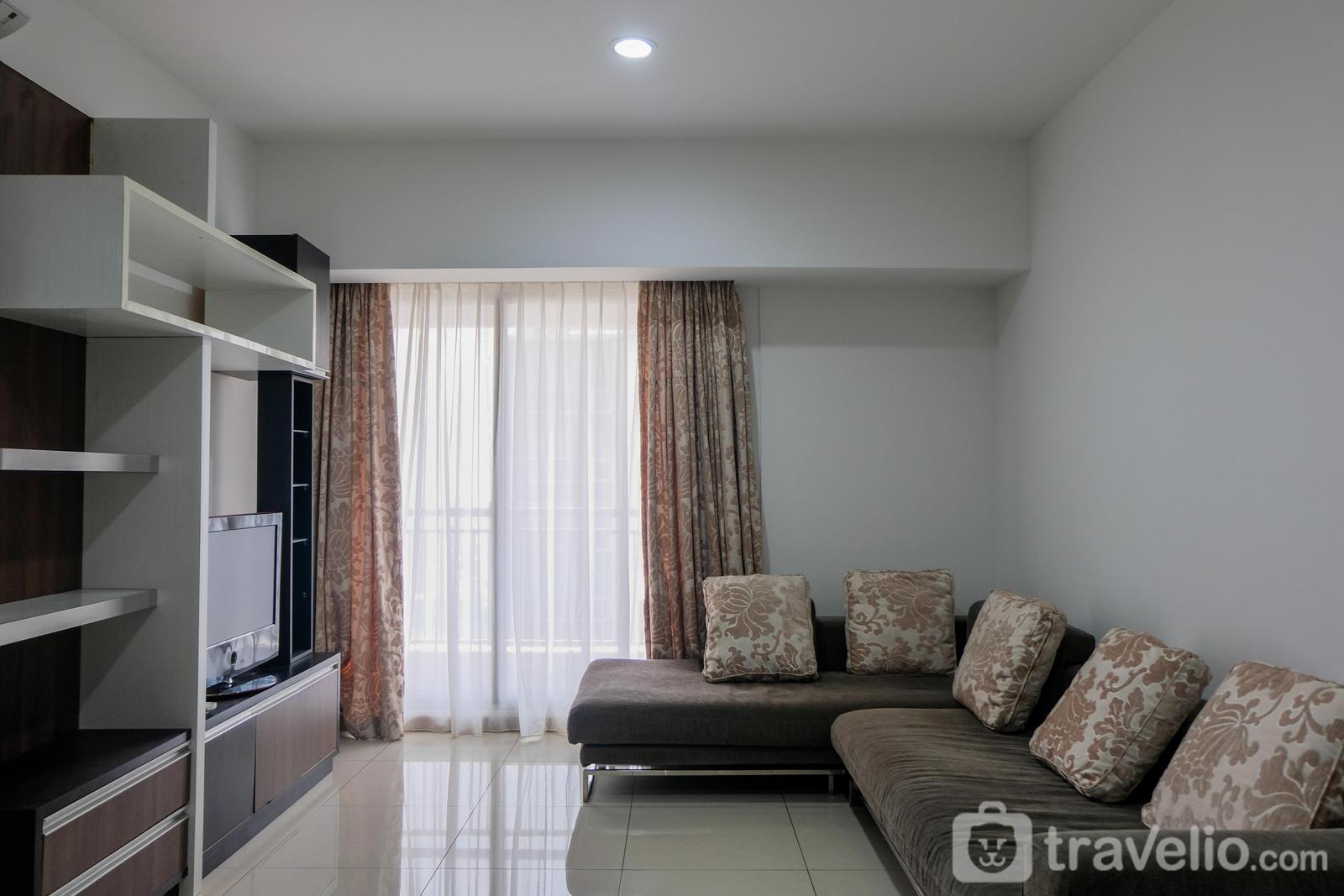 M-Town Signature - Homey 2BR Apartment at Serpong M-Town Signature By Travelio