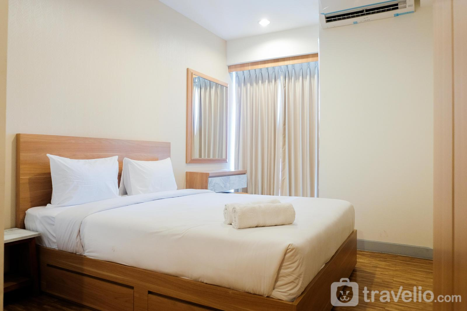 Grand Kamala Lagoon - Simply Modern Studio Grand Kamala Lagoon Apartment By Travelio