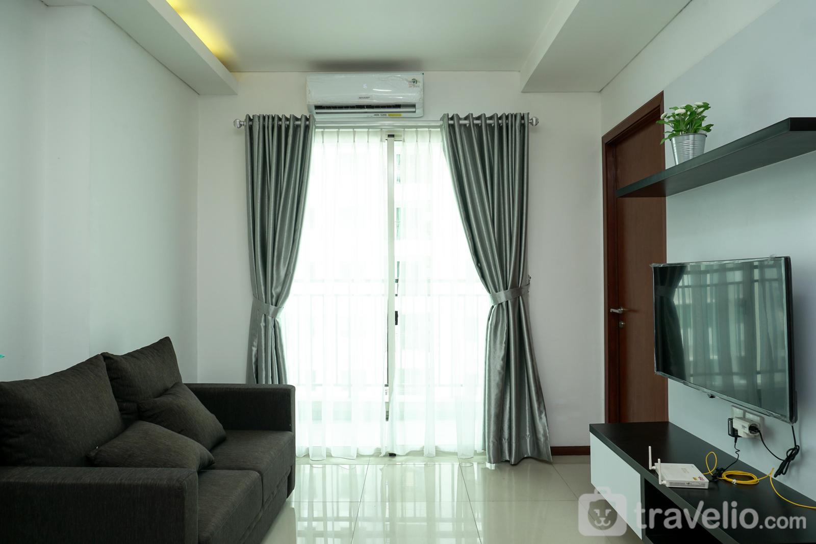 Thamrin Residence - Nice 1BR Apartment at Thamrin Residence By Travelio
