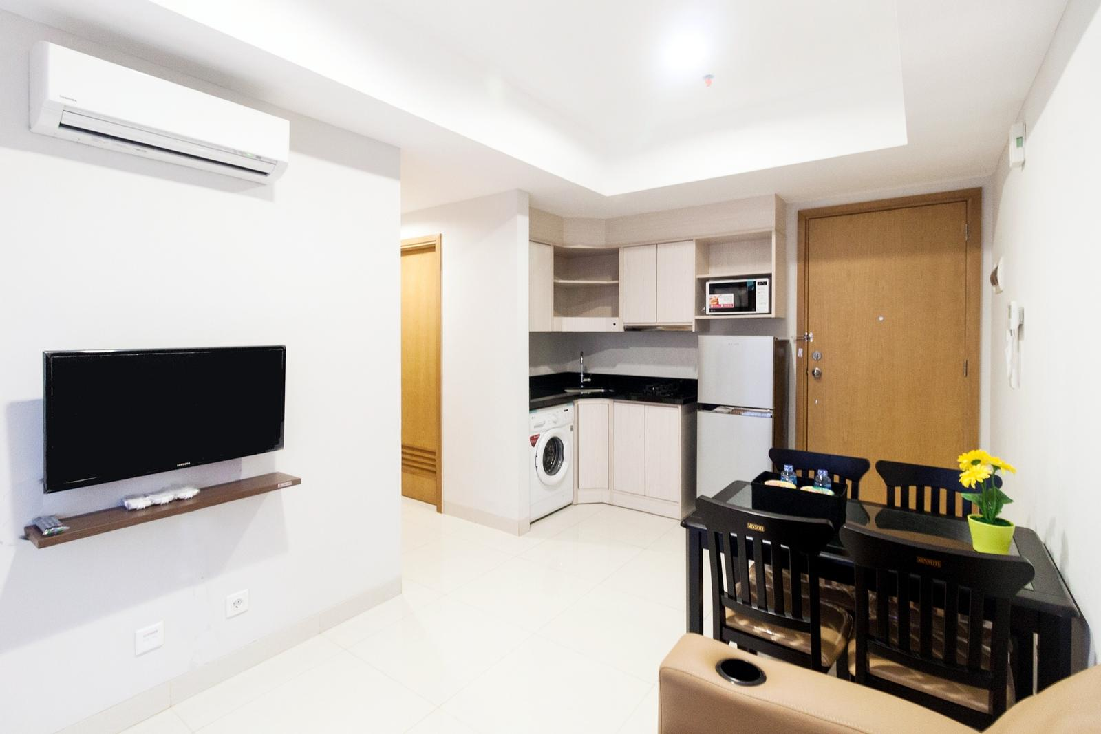 The Mansion Kemayoran - 2 BR Fully Furnished The Mansion Apartment By Travelio