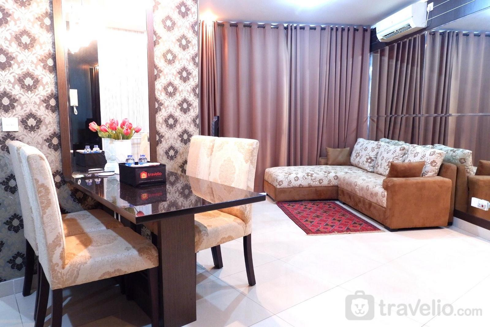 Sahid Sudirman Residence - Strategic 2BR Apartment Sahid Sudirman Residences By Travelio