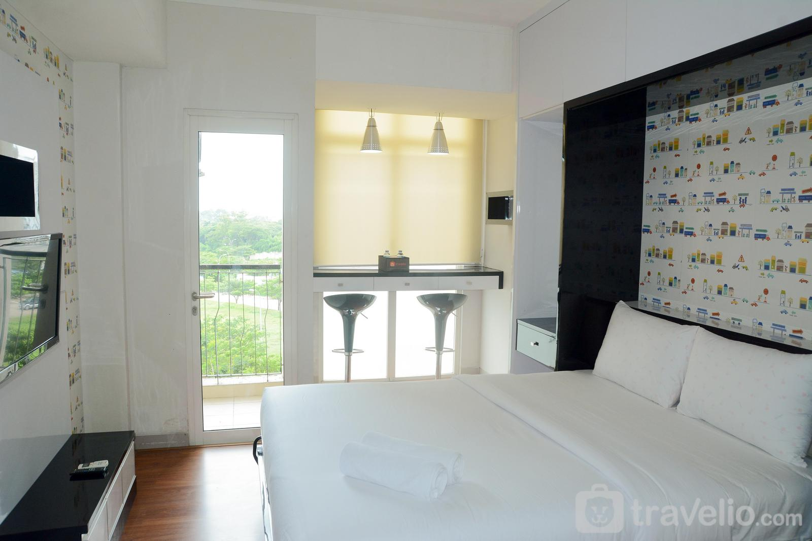 The Oasis Cikarang - Cozy Studio The Oasis Apartment near to Jababeka By Travelio