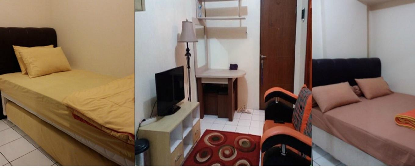 Gateway Apartement Ahmad Yani Cicadas - Simply Comfy 2BR Apartment @ Gateway A Yani By Yanti