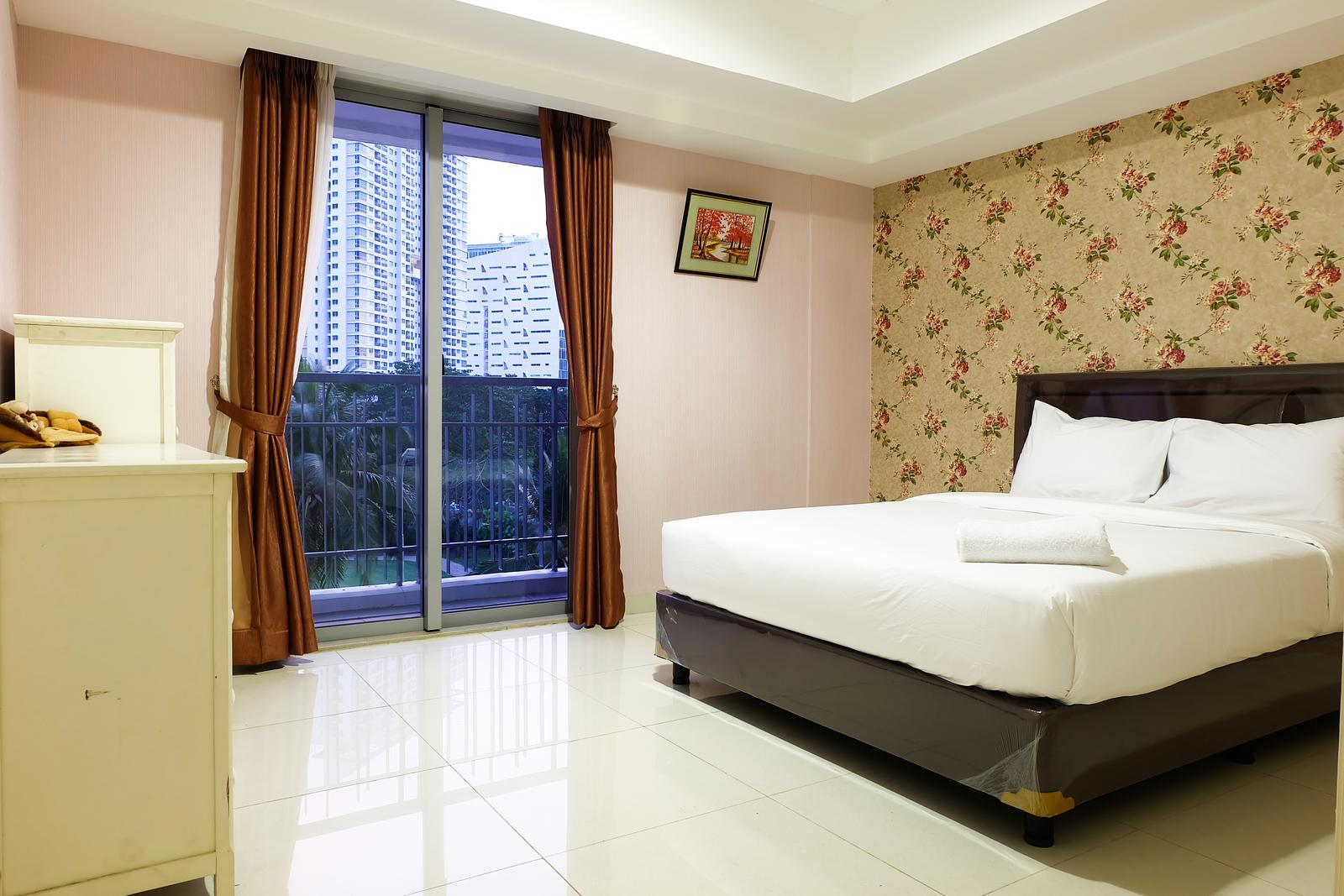 The Mansion Kemayoran - 1BR Homey The Mansion Apartment Near Golf  Kemayoran By Travelio