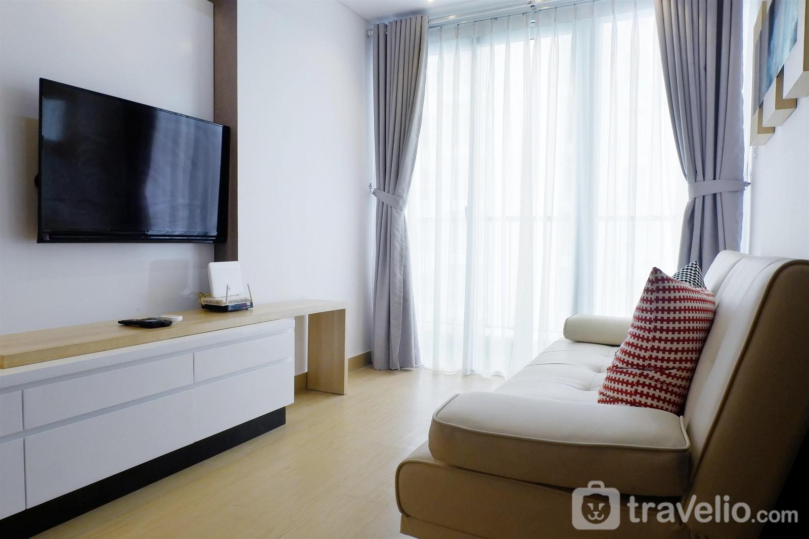 Casa de Parco Apartment - Futuristic 1BR Casa De Parco Apartment near ICE BSD By Travelio