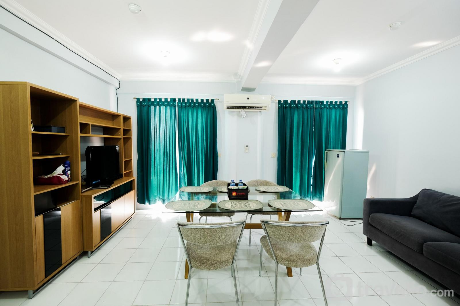 Grand Center Point Bekasi - Spacious Family 2BR Grand Center Point Apartment By Travelio