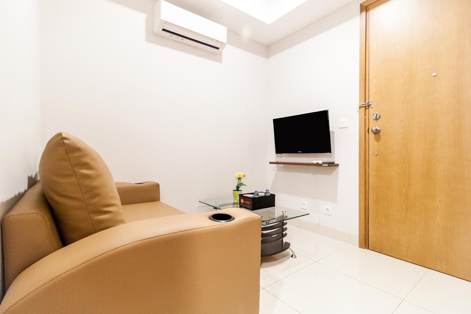 The Mansion Kemayoran - 1 BR Modern Living The Mansion Apartment By Travelio