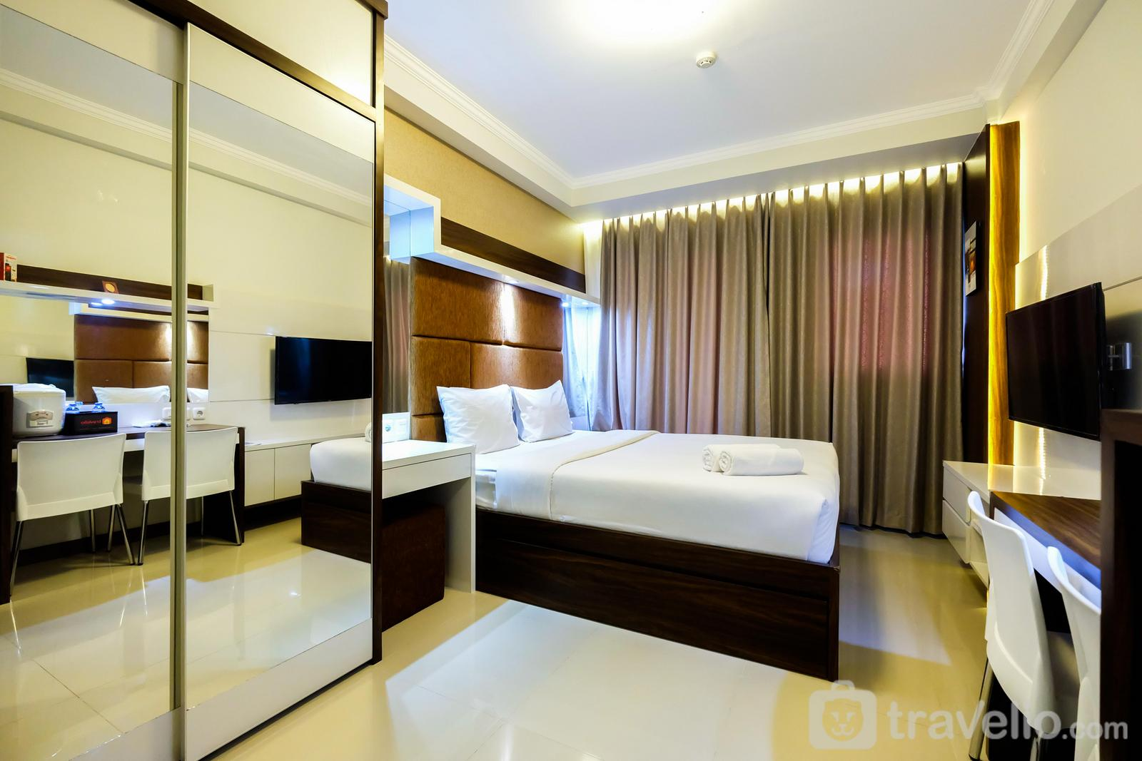 Signature Park Grande M.T Haryono - New Elegant Studio Signature Park Grande Apartment By Travelio