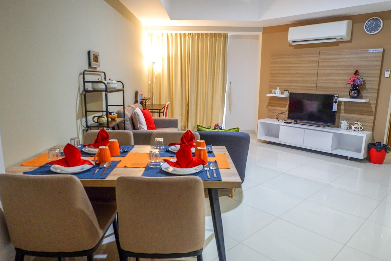 The Mansion Kemayoran - Spacious 2BR The Mansion Apartment Kemayoran By Travelio