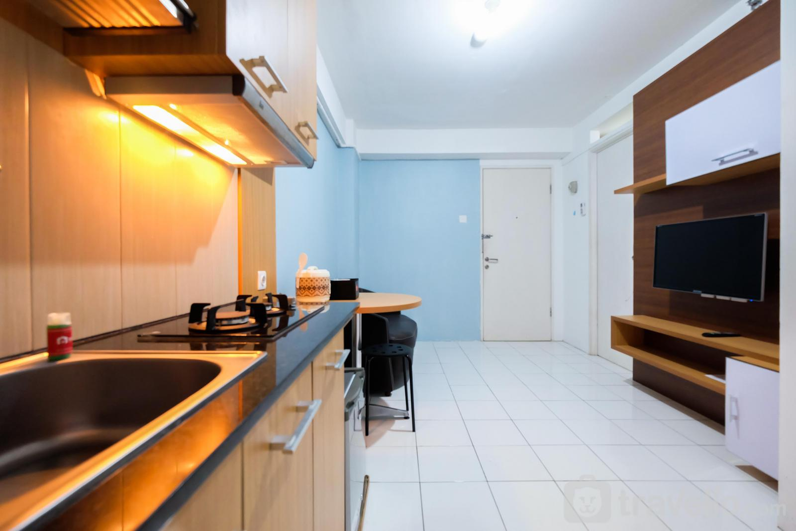 Kalibata City Residence - Simply and Homey 2BR Apartment at Kalibata City By Travelio
