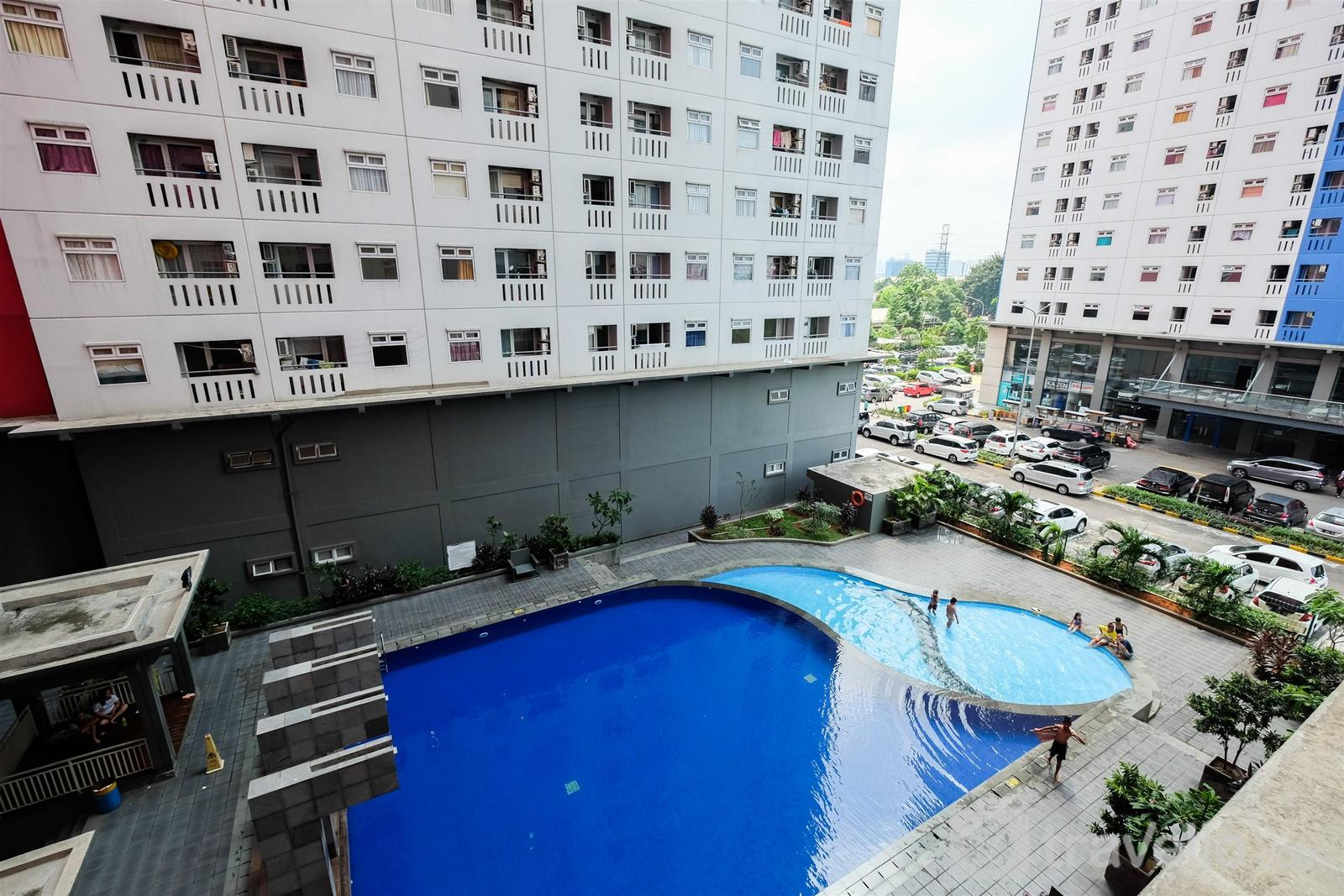 Green Pramuka Cempaka Putih - Clean and Cozy 2BR Green Pramuka Apartment By Travelio