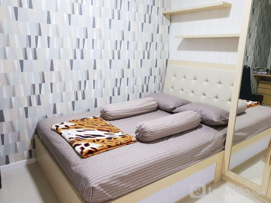 Parahyangan Residence - Full Furnished 2 Bedroom 9th Floor At Parahyangan Residence Apartment
