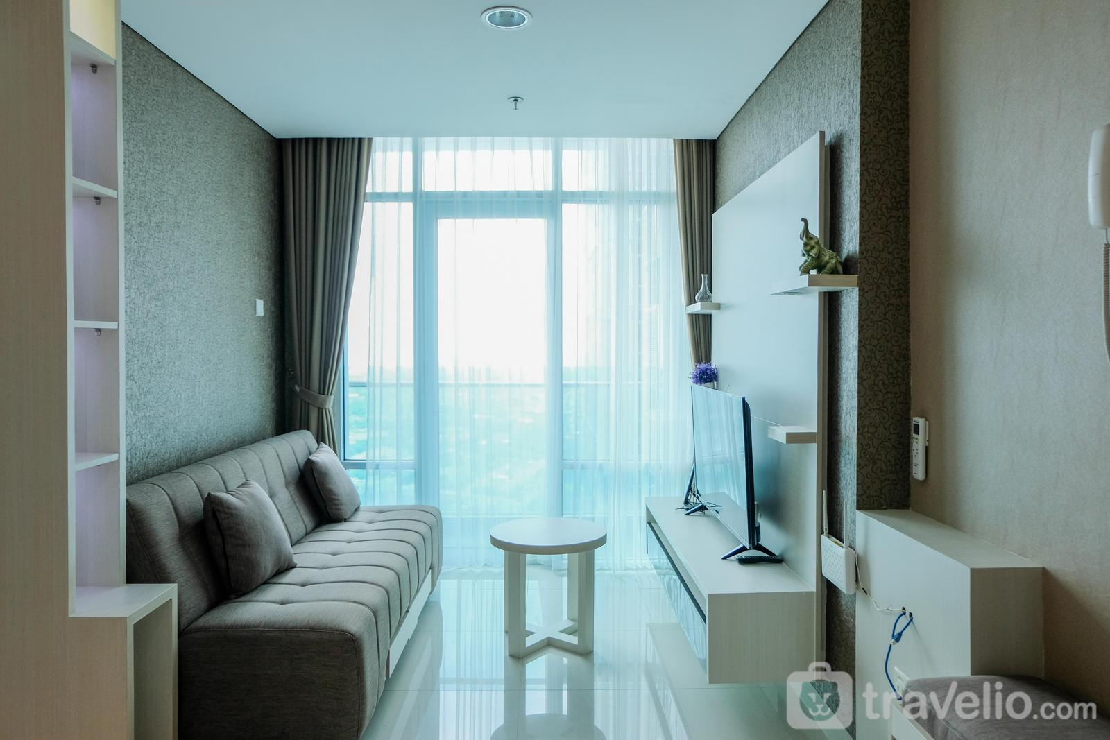 Brooklyn Apartment Alam Sutera - Luxurious 2BR Brooklyn Apartment By Travelio