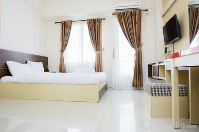 Homey and Comfy Studio Room Galeri Ciumbuleuit Apartment 2 By Travelio