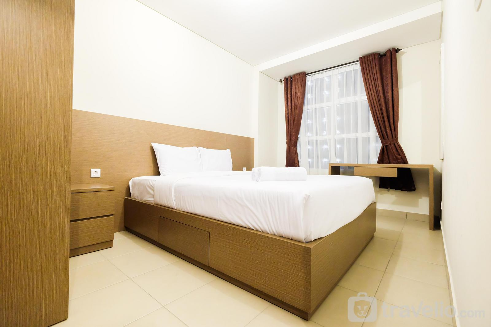 Saveria BSD City - Clean and Comfy 1BR Saveria Apartment near AEON Mall By Travelio
