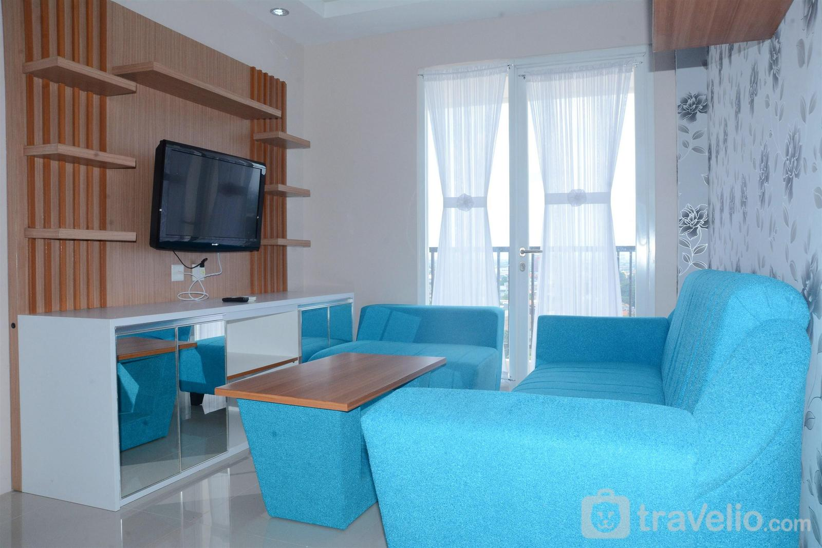 Signature Park Grande M.T Haryono - Spacious 2BR Apartment Signature Park Grande By Travelio