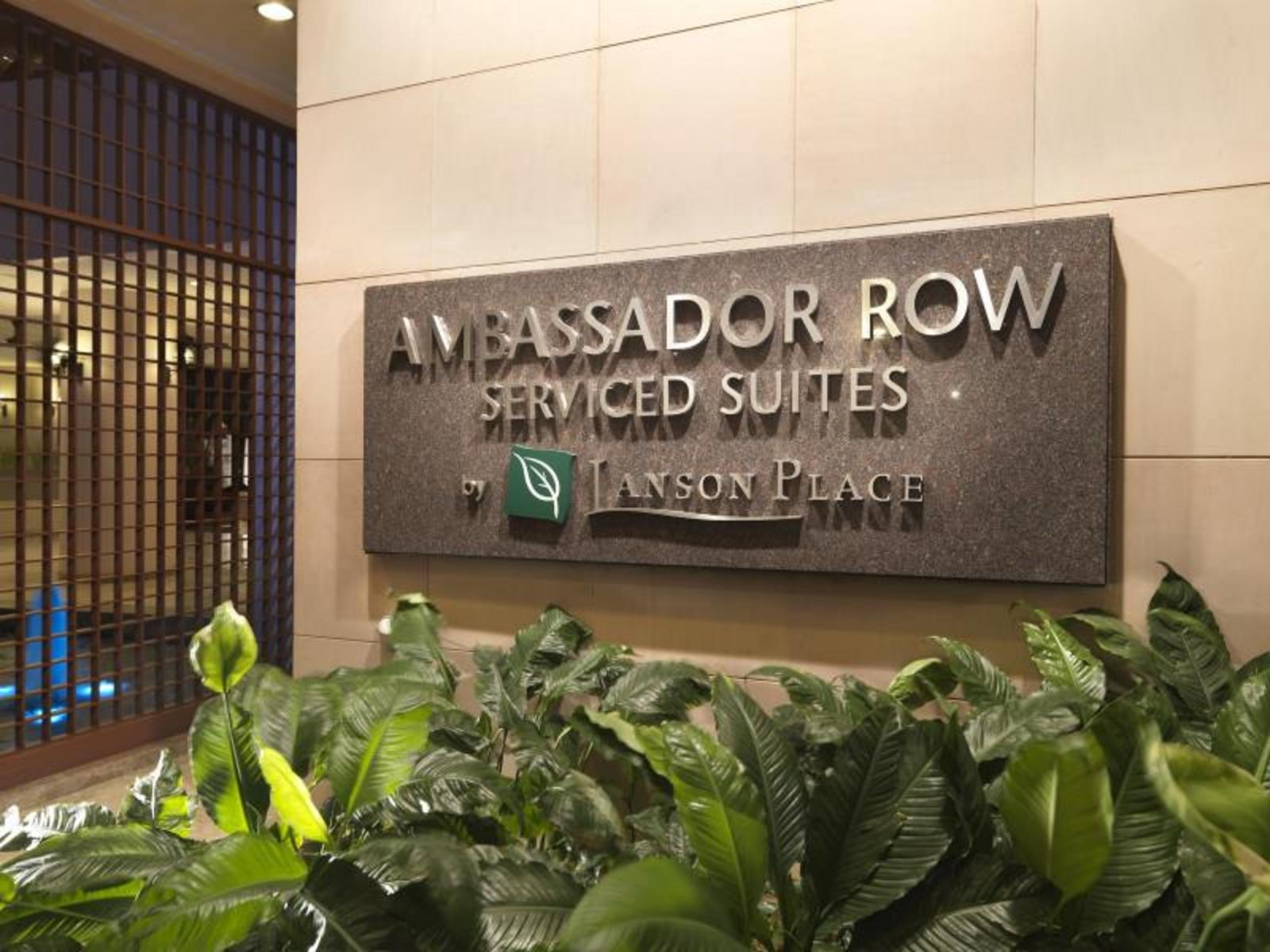 Ambassador Row Serviced Suites By Lason