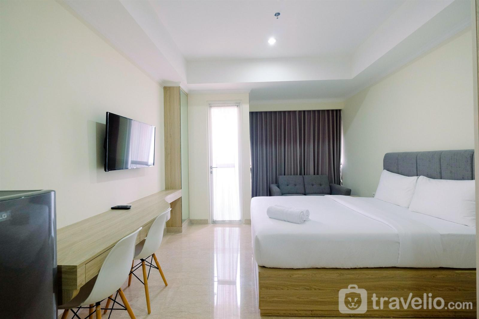 Menteng Park - Simply Modern Studio Menteng Park Apartment By Travelio