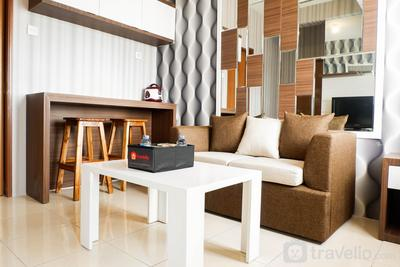Cozy 2BR Apartment with City View at Pavilion Permata By Travelio