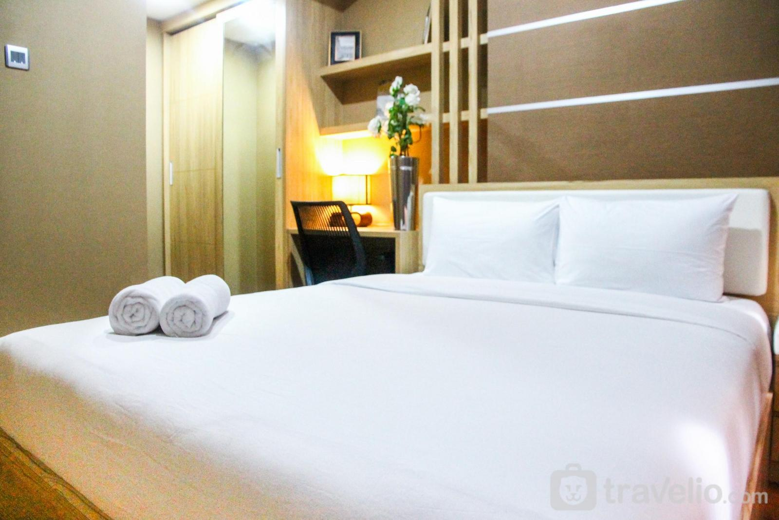 The Oasis Cikarang - Cozy and Minimalist 1BR @ The Oasis Apartment By Travelio