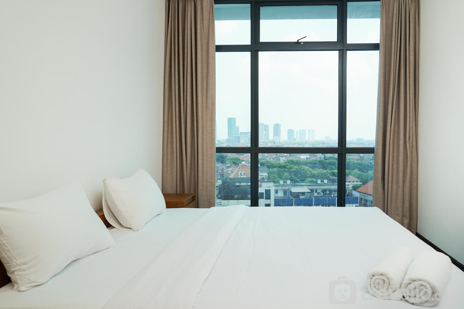 Veranda Residence Puri - Exclusive 1BR Veranda Residence @ Puri Apartment By Travelio