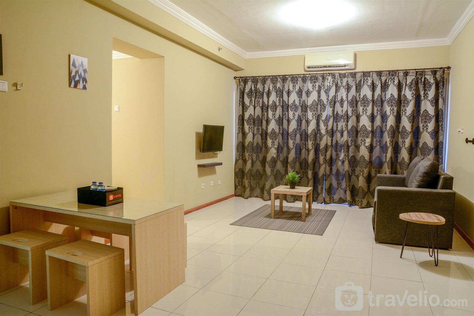 Grand Palace Kemayoran - Extra Space 3BR Apartment Grand Palace Kemayoran By Travelio
