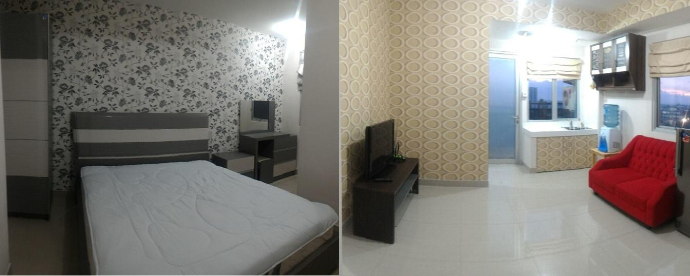 Sudirman Suites Bandung - 2 Bed Room Fully Furnish with City View @ Sudirman Suites Apartment Bandung
