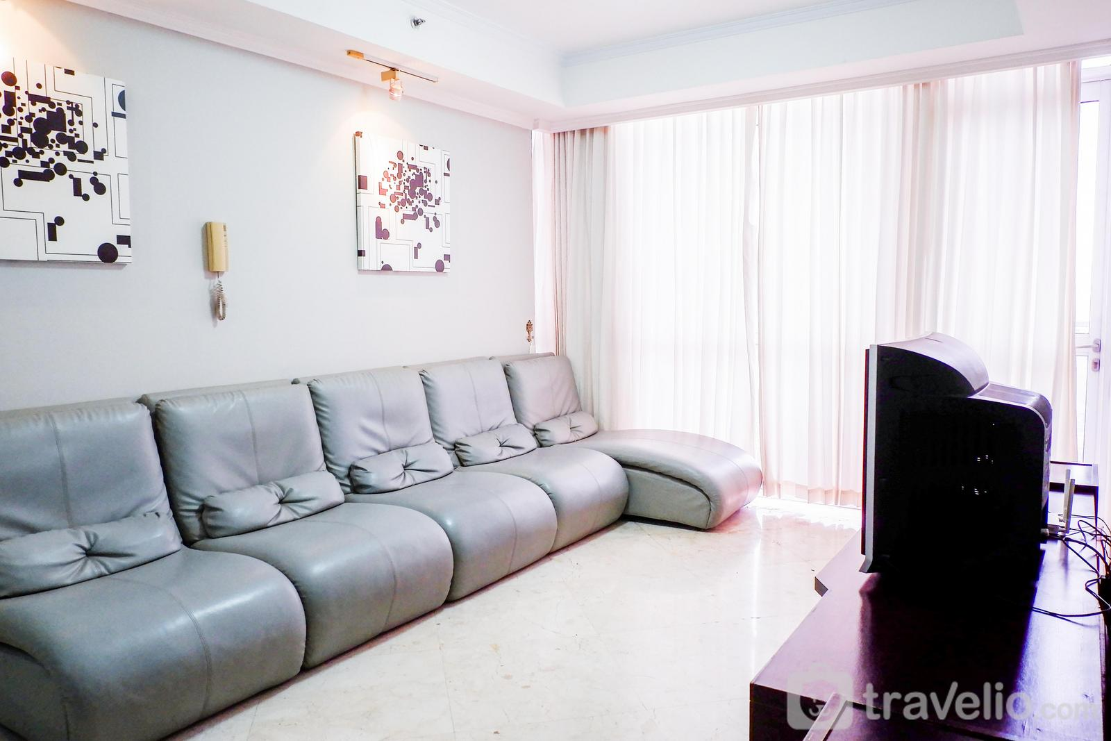 Bellagio Residence - Exclusive City View 3BR Apartment at Bellagio Residence By Travelio