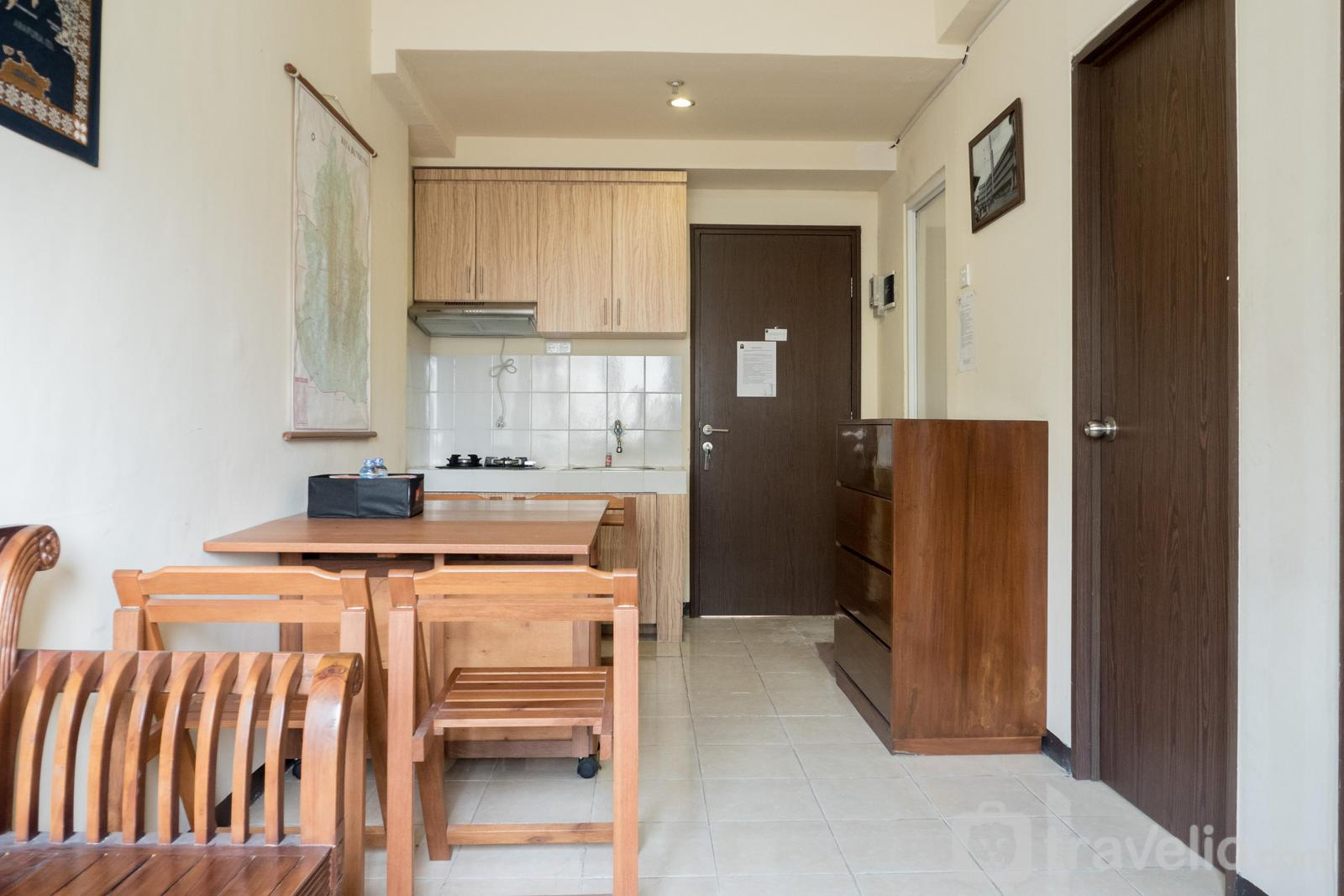 The Suites @Metro - Ethnic and Comfy 2BR The Suites Metro Apartment By Travelio